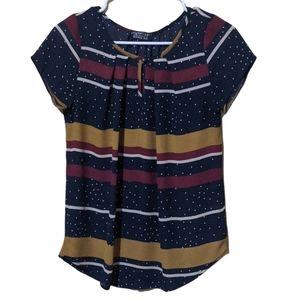 Paper moon blouse stitch fix women's xs preppy
